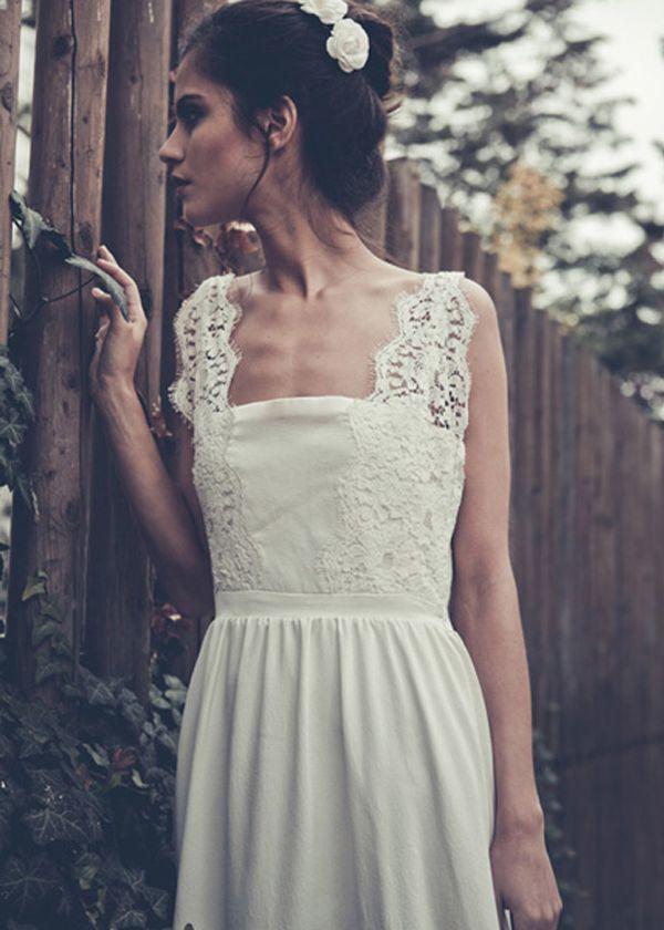 laure de sagazan dress with lace straps