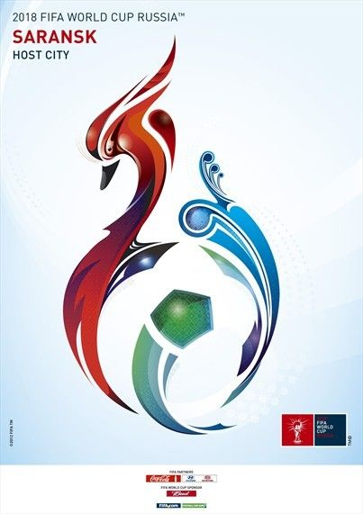 2018 FIFA World Cup poster (Saransk)
