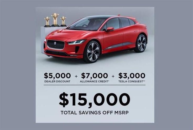 Aux USA, Jaguar offre 8 000 dollars aux propriétaires de Tesla