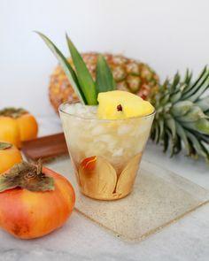 Tiki Cocktail Recipes: The Jungle Bird / Liquorary for Oh So Beautiful Paper