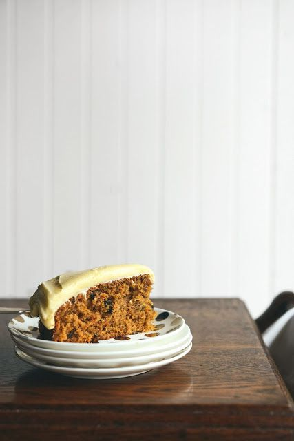 Carrot Cake with Orange Cream Cheese Frosting