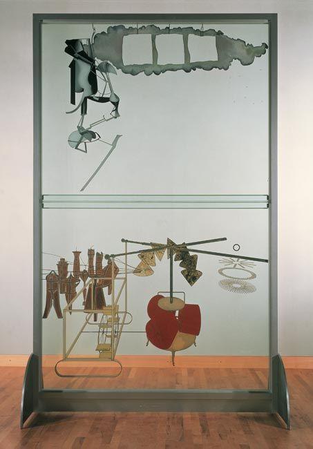 La Novia desnudada por los pretendientes, Marcel Duchamp