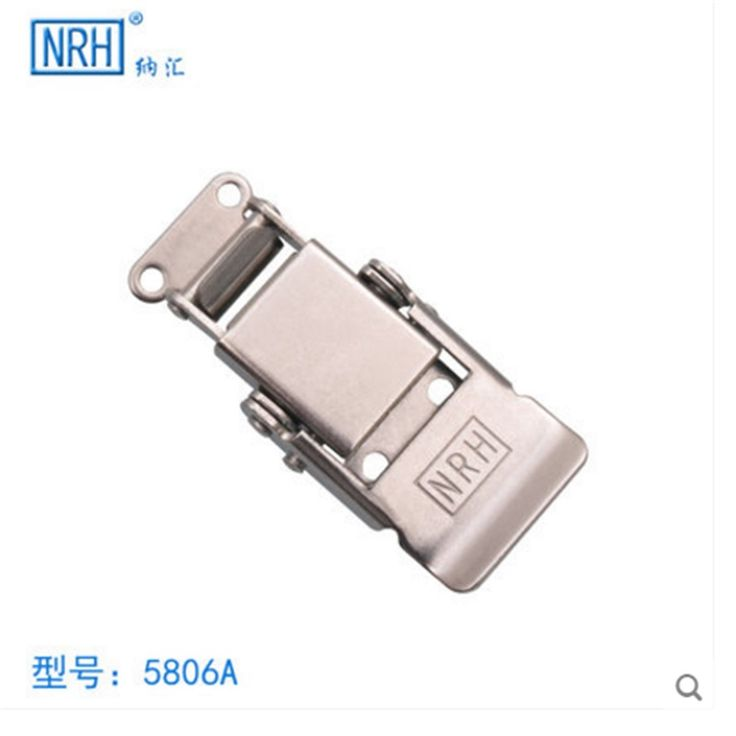 NRH 5806A Stainless steel good quality toggle draw latch a pair of draw latch for rack road case box chest hasp