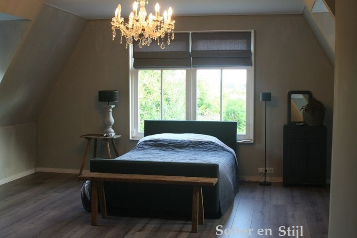Sober en stijl landelijke slaapkamer pinterest for Landelijke kleuren interieur