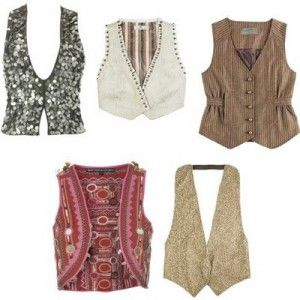 Chalecos de moda para mujer