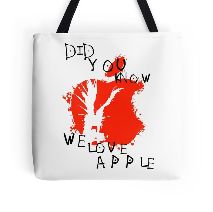 We Love Apple, Death Note Anime by oncemoreteez