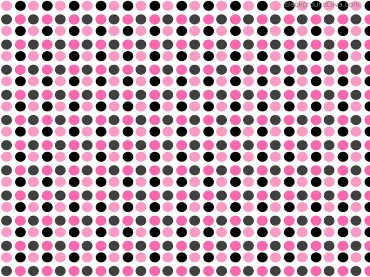 pink black and grey polka dot background paparazzi