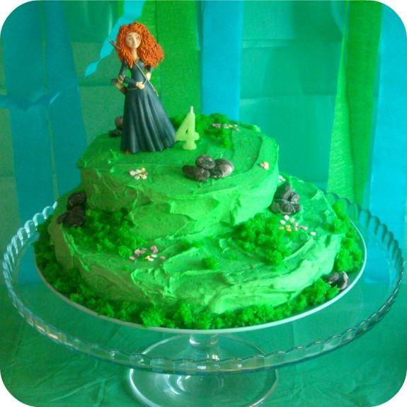 Fiesta 4º cumpleaños de Carlota . Merida pelicula Brave.