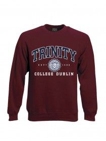 Trinity Crew Neck Sweat Burgundy