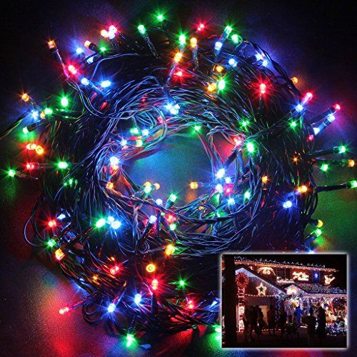 1720 best outdoor string lights images on pinterest string lights solar powered decorative twinkle led lights 394ft 100 light bulbs waterproof mode changing fairy outdoor string aloadofball Gallery