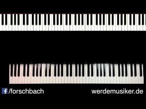 All of me John Legend - Piano Tutorial deutsch - Teil 4 - german - YouTube