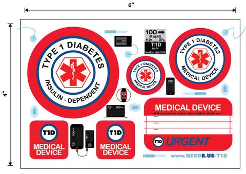 29 stickers extra large variety package with all stickers available november 14 is world diabetes awareness day