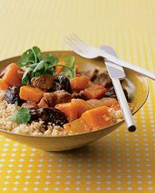 Lamb-and-Squash Tagine - Whole Living Wellness