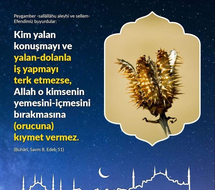 Oruç.  #oruç #yalan #hadis #buhari #islam #hayırlıcumalar  #istanbul #türkiye #ilmisuffa