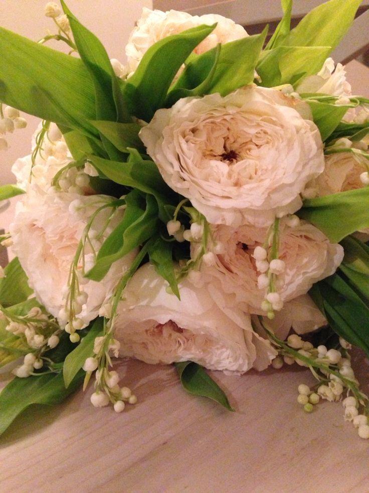 Rose inglesi e mughetti