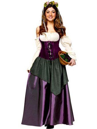 womenu0027s corset tavern wench adult costume