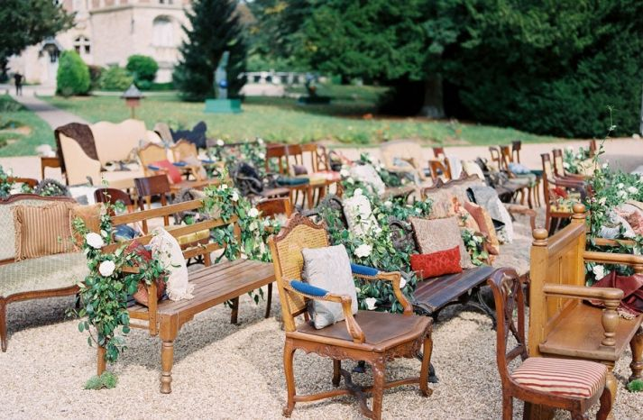Unique Ceremony Seating Ideas For Outdoor Weddings: Best 25+ Wedding Ceremony Seating Ideas On Pinterest