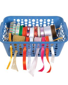 Dollar Tree Ribbon Organizer