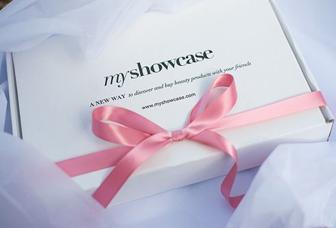 MyShowcase packaging - how lovely to receive your goodies in this beautiful packaging. x