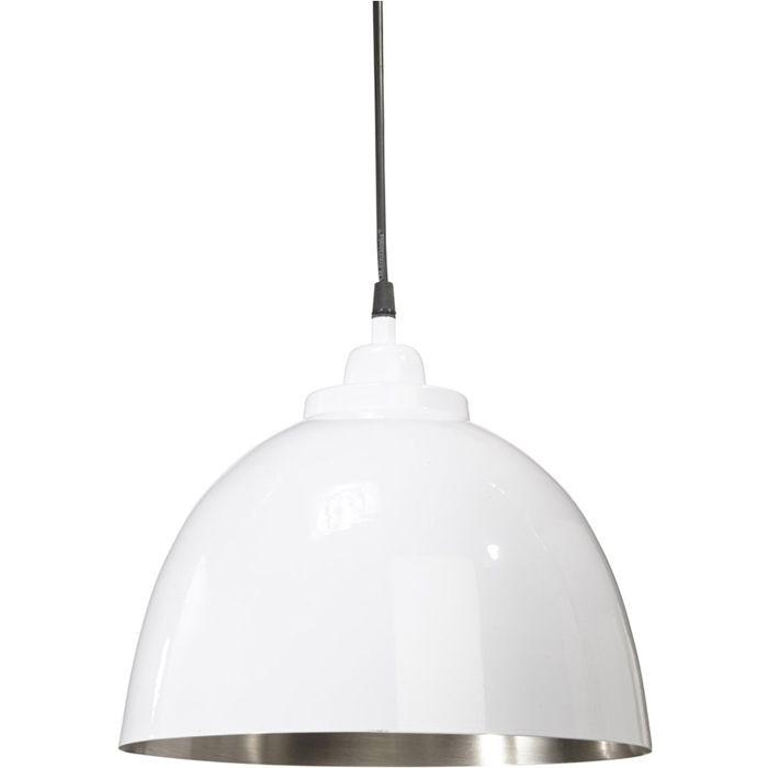 Die moderne Hängelampe ROCHESTER ist eine Metalllampe in schwarz (hochglanzend). Der innere Teil der Lampe ist silber. Diese Lampe wertet jeden Raum auf. Merkmale:Durchmesser: 30 cm  Kabel: 1,2 m Höhe: 26 cm Technische Daten: E27 max 40W  #lampe #leuchte #beleuchtung #hausdeko #deko #lampen #e27 #birne #glühlampe #hochglanz