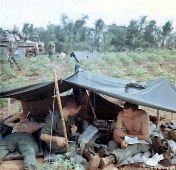Nothing but the best living quarters for the grunts