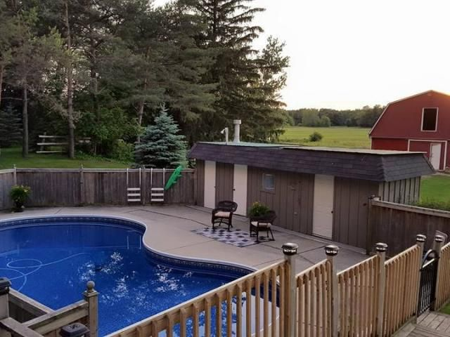 10286 Hedley Dr, Middlesex Centre -   3 acre Hobby Farm 20 mins from London with 4-Stall Barn & Heated In-Ground Pool! -   http://www.LondonOntarioRealEstate.com/listing/cms/10286-hedley-dr-middlesex-centre/