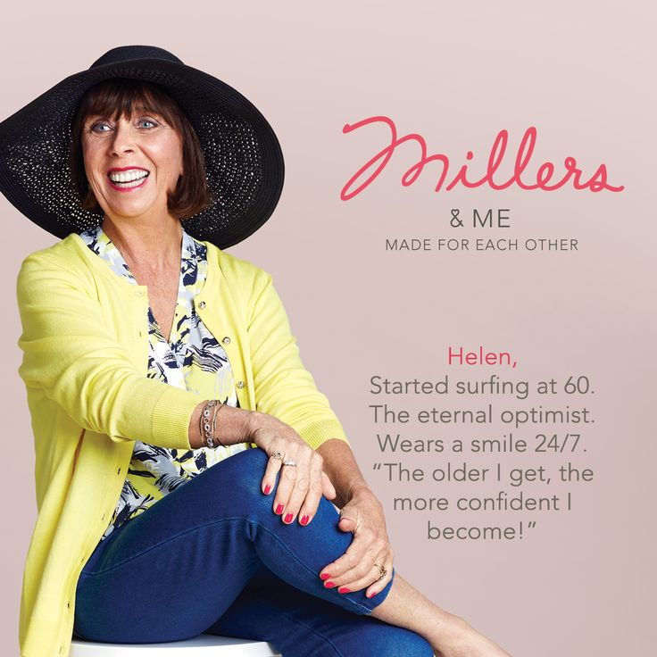We asked Helen Millers customer and star of our latest campaign.. How does your style reflect your day-to-day life? I live a very full and busy life so having clothes that can suit different needs is really important to me. I always make the effort to think about what goes well together.