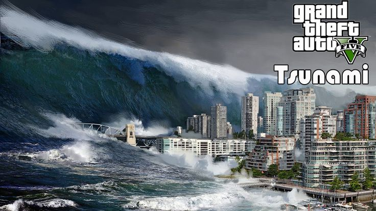 GTA V PC Tsunami MOD + Crazy Waves + Download Link