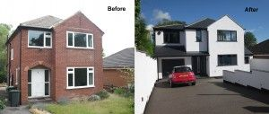 The property was an unloved very run down and dated 3 bedroom, 1 bathroom 1960's redbrick detached house in north Leeds