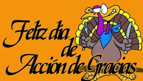 Spanish Simply: Thanksgiving Lesson in Spanish Class