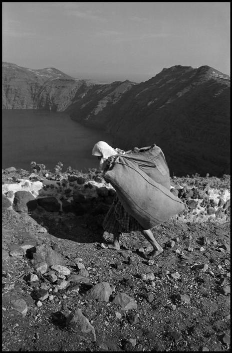 David Seymour - The Island of Santorini.  1951