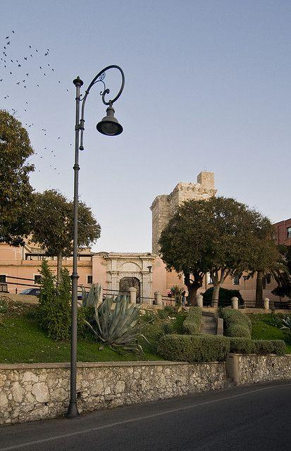 Porta Cristina, Cagliari, Sardinia, Italy