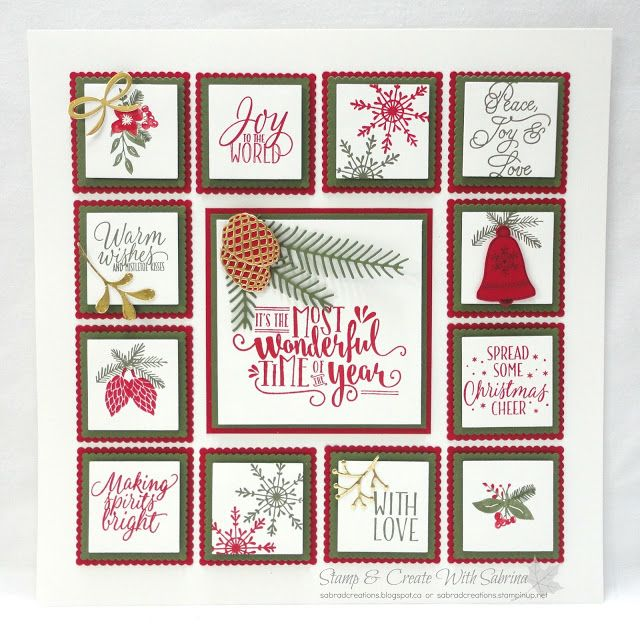 """It's a great idea to have a 12"""" x 12"""" frame not just for scrapbook pages but also for samplers. You can make one for each season and/or ho..."""