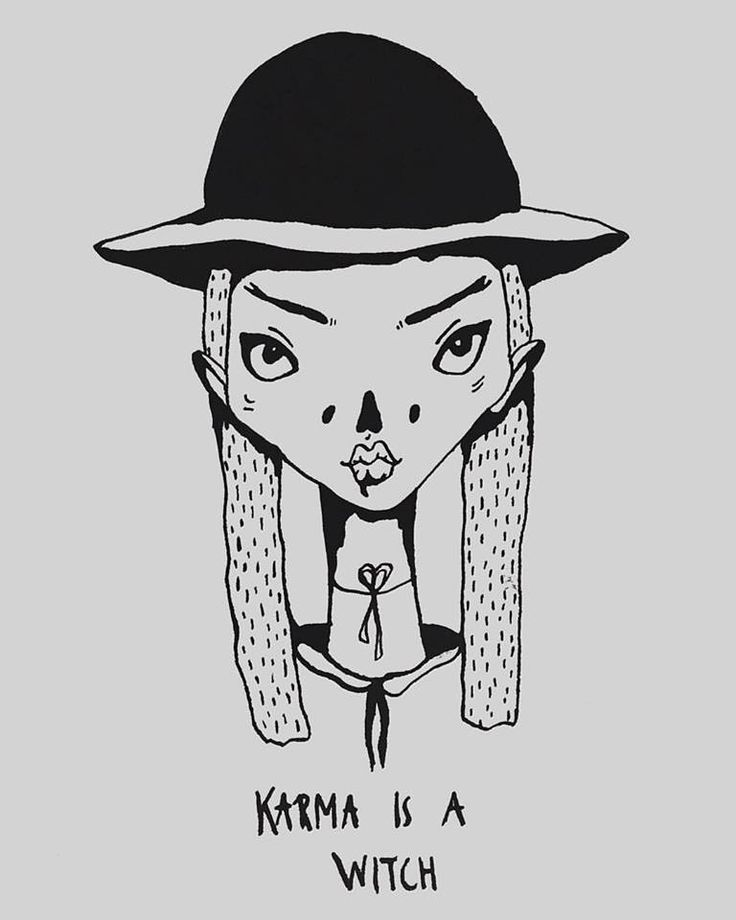 karma is a witch Ⓒ tuesday wednesday