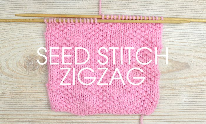 Tutorial Zigzag Knitting : Best knit stitches images on pinterest patterns