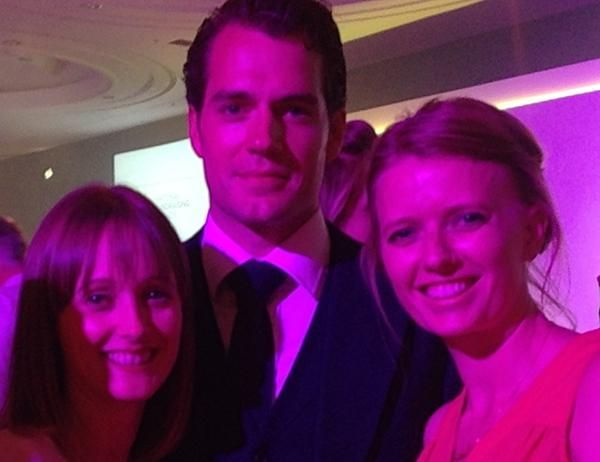 @HenryCavill_HCF Emily loved meeting you last night! We'd love superman at our male-only @OvarianCancerUK event!