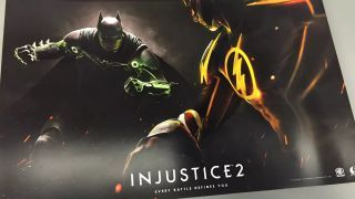 Injustice 2 pre-order posters leak before it's even announced
