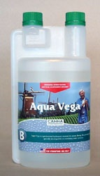 Canna Aqua Vega B 1 liter Canna Aqua Vega B is the second part of a 2 part nutrient system. Use with Canna Aqua Vega a for a properly balanced feeding. #canadianwholesalehydroponics
