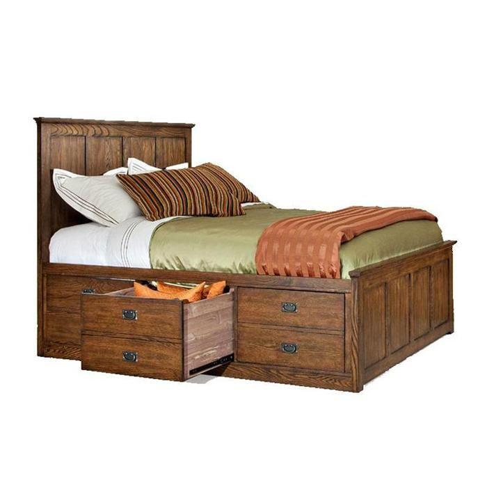 Queen Storage Bed In Mission   Nebraska Furniture Mart