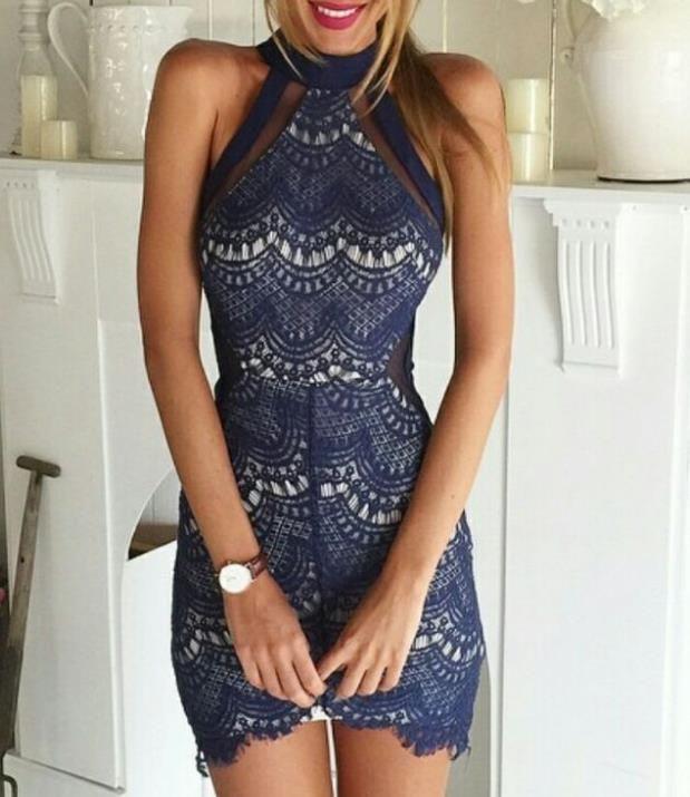 Spool 72 spanish lace dress