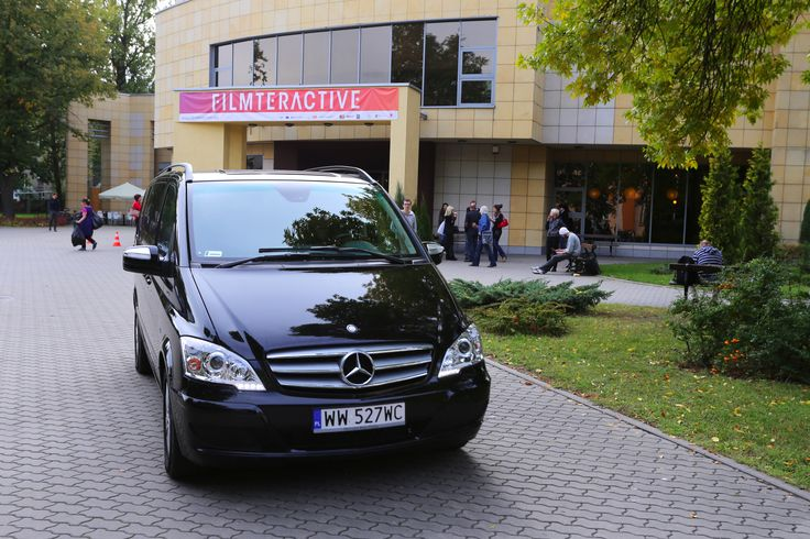 Mercedes Benz, the moto partner of the event