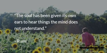 #Quotes by #Rumi - Your Soul is constantly guiding you. You just may not yet have the ears to listen. Patience. - from http://www.selfhelphealing.co.uk