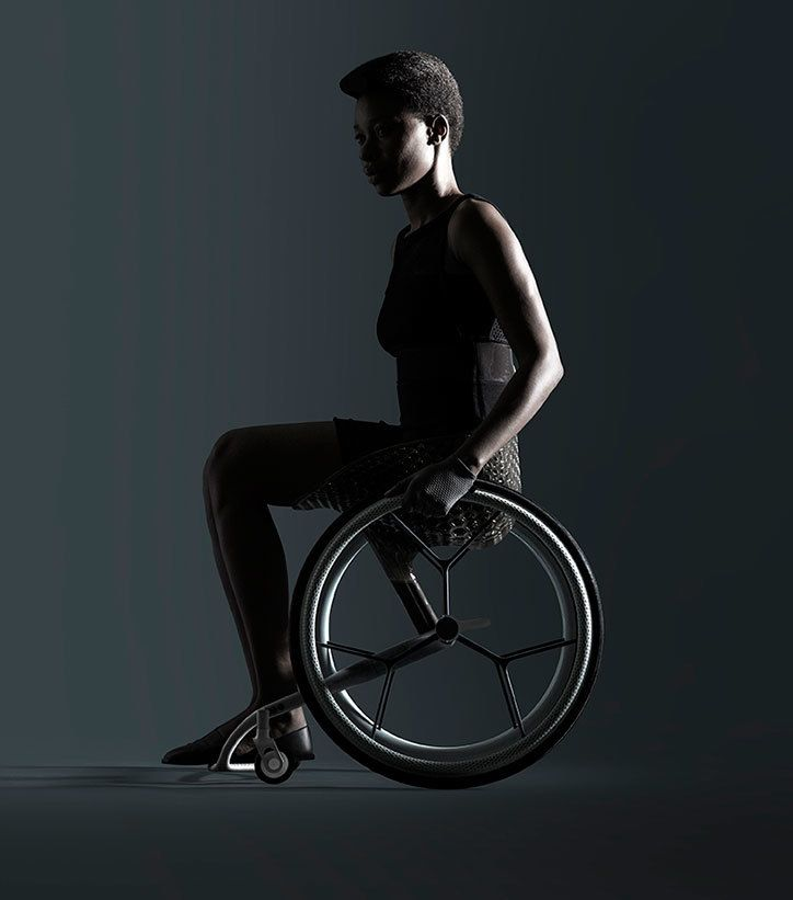 World's first 3D-printed consumer wheelchair released