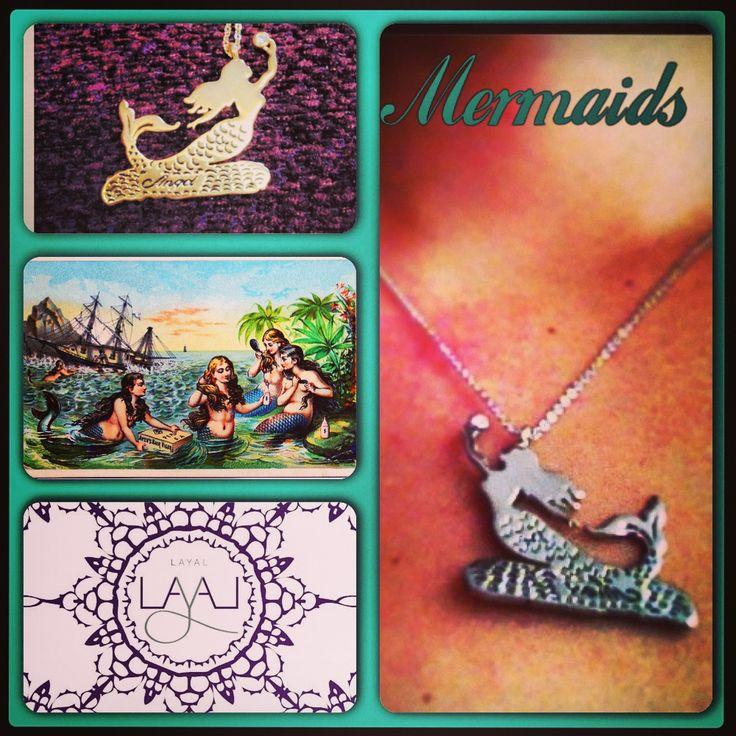 Mermaid necklaces layal glyfada