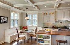 Essecke in der Küche gestalten sitzbank