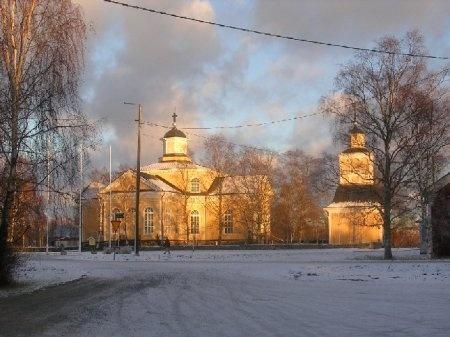 Kronoby Church, Finland