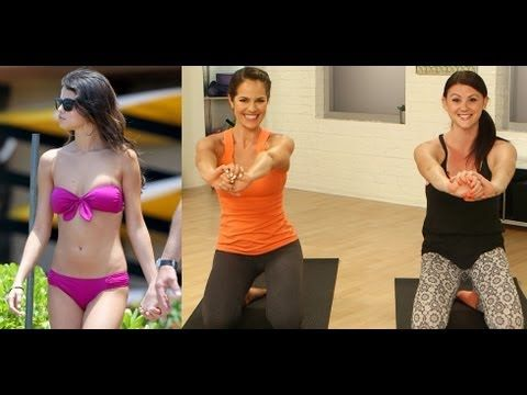 Selena Gomez Ab Workout | Celebrity Fitness | Get The Bod
