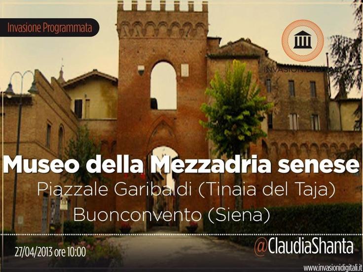 Museo della Mezzadria #InvasioniDigitali il 27 aprile, ore 10. Invasore: @ClaudiaShanta!