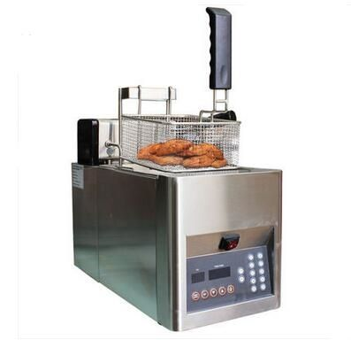 1024.00$  Watch here - http://alirby.worldwells.pw/go.php?t=32729324639 - Shentop STWA-DZS8 Desktop Deep Fryer Machine free shipping Single Tank Automatic deep Fryer Machine 1024.00$