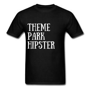 ThemeParkHipster Modern - Men Theme Park T-Shirt
